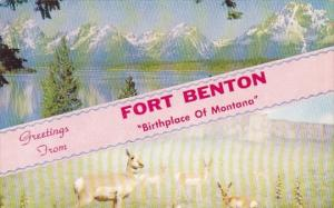 Greetings From Fort Benton Birthplace Of Montana