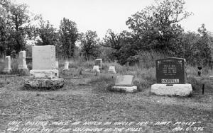 MO - Notch, Graves of Uncle Ike, Aunt Molly, Old Matt & the  Shepherd of the...