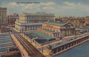 Illinois Chicago Union Station 1953