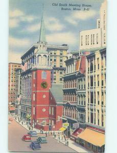 Unused Linen SHOPS ALONG STREET Boston Massachusetts MA HM9545