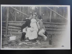 c1903 Childplay DUAL Sword Fencing La Réconciliation  110515