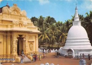 BR5043 Buddhist Temple Sri Lanka   ceylon
