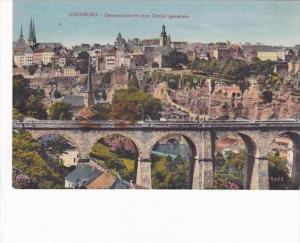 Luxemburg Gesamtansicht vom Osten gesehen