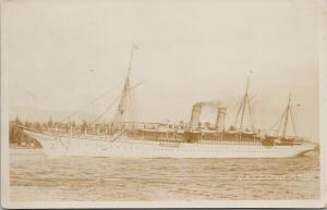 RMS Empress of Japan Steamship Unused Gowen Sutton Real Photo Postcard E57