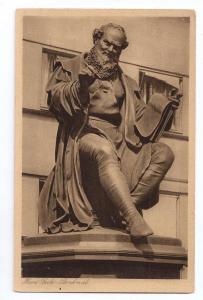 Germany Nurnberg Hans Sachs Memorial Nuremberg Real Photo