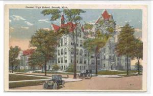 Central High School, Detroit, Michigan, PU-1922