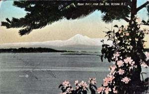 VICTORIA, BRITISH COLUMBIA, CANADA - View of MOUNT BAKER 1909