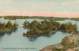 Out Of Sight Channel TI, Thousand Islands, New York - pm 1913 - DB