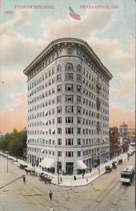 Indiana Indianapolis The Pythian Building 1909