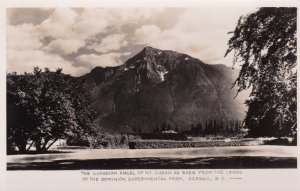 RP: AGASSIZ, British Coulmbia, Canada, 1930-50s; Guardian Angel, Mt. Cheam fr...