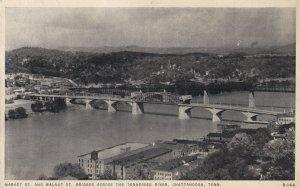CHATTANOOGA, Tennessee, PU-1938; Market Street Bridge