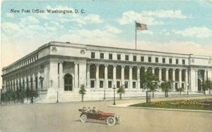 New Post Office, Washington D.C  1917 used Postcard