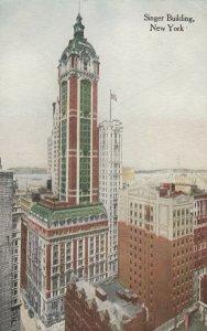NEW YORK CITY, 1900-10s ; Singer Building