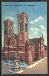 Rhode Island, Providence - Cathedral Of St Peter & St Paul - [RI-024]