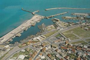Hirtshals 1980s Aerial Denmark Postcard