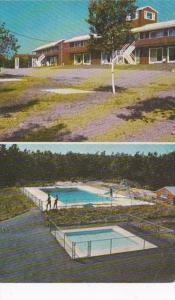 Maine Kennebunkport Beach Wood Motel 1970