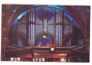 Organs, Norte Dame Basilica, Montreal, Quebec, Canada, 40-60s