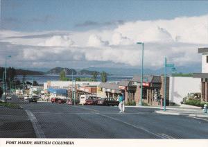 Main Street , PORT HARDY , B.C. , Canada , 50-70s