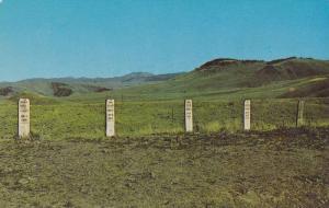 Hanged Road Agents Gravestones, Boot Hill Cemetery, Virginia City, Montana