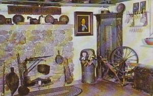 Wisconsin Blue Mounds Corner Of Living Room In Homesteader's Cabin 1978