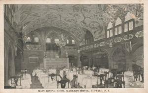 Dining Room at Markeen Hotel - Buffalo NY, New York - WB