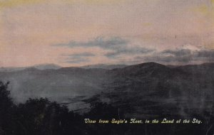 North Carolina , 1900-10s ; View from Eagle's Nest in the land of the sky