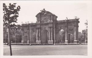 Spain Madrid Puerta de Alcala Alcala Doorway Real Photo