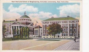 Earl Hall & School of Engineering, Columbia University, New York City, New Yo...