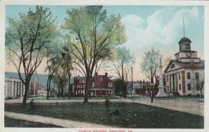 BEDFORD , Pennsylvania , 1900-10s ; Public Square