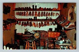 Minden NE- Nebraska, Cobbler Shop, Pioneer Village, Chrome Postcard