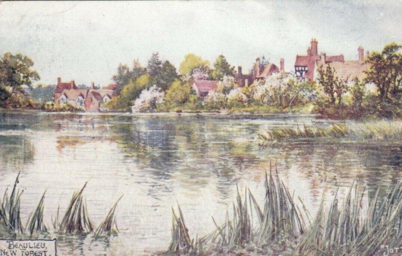 BEAULIEU, England, 1913; New Forest; AS; JOTTER