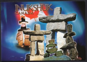 The Inukshuk for the Inuit People a National Cultural Symbol of Canada Cont'l