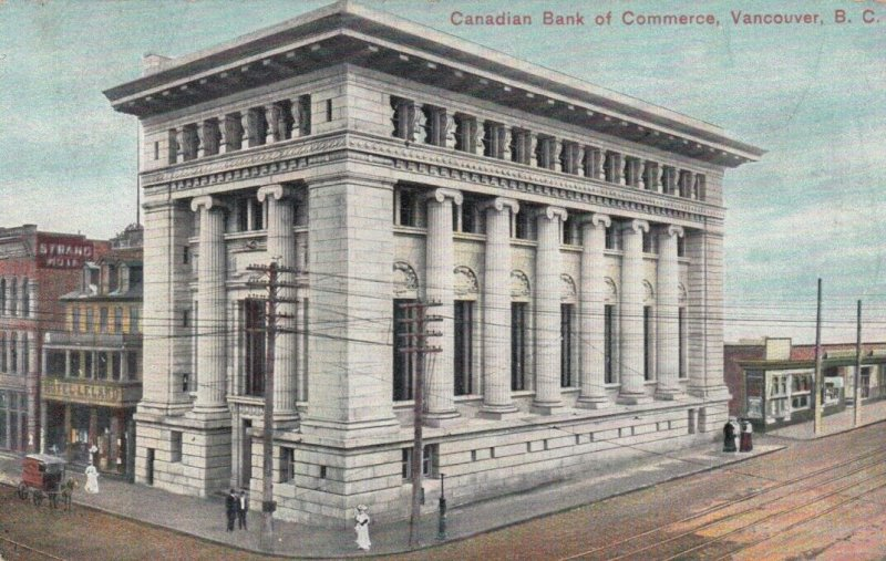 VANCOUVER, British Columbia, Canada, PU-1909; Canadian Bank of Commerce