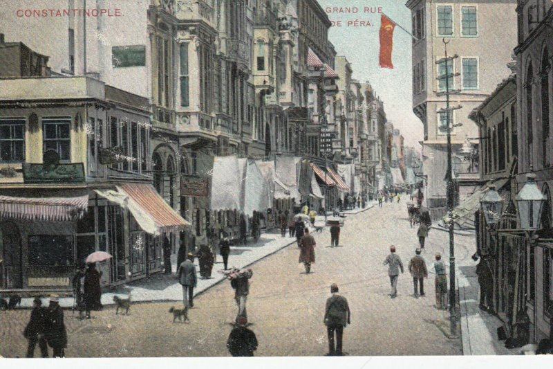 CONSTANTINOPLE, Turkey, 1901-07; Grand Rue