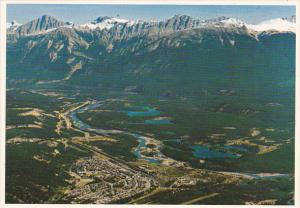 Canada Jasper From Jasper Sky Tram Alberta