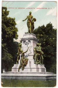 Statue of Gen Lafayette, Washington DC