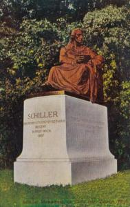 Michigan Detroit The Schiller Monument