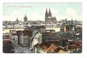 Koln a. Rh. Von Deutz Gesehen (North Rhine-Westphalia), Germany, 1900-1910s