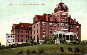 Massachusetts Worcester Odd Fellows Home