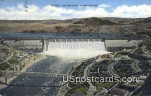 Grand Coulee Dam, WA Postcard      ;      Grand Coulee Dam, Washington Post Card