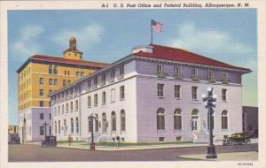 U S Post Office And Federal Building Albuquerque New Mexico