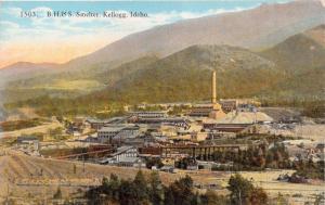 KELLOGG IDAHO~B. H. & S. SMELTER SMELTERY~J L ROBINS PUBL POSTCARD