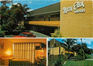 Mary Ellen Motel Ipswich Queensland Australia Postcard 1982