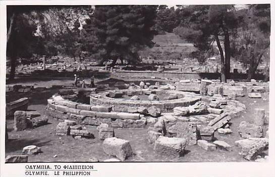 RP, Le Philippion, Olympie, Greece, 1920-1940s