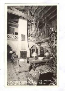 RP, Interior, The Fireplace & Living Room At Scotty´s Castle, Death Valley, ...