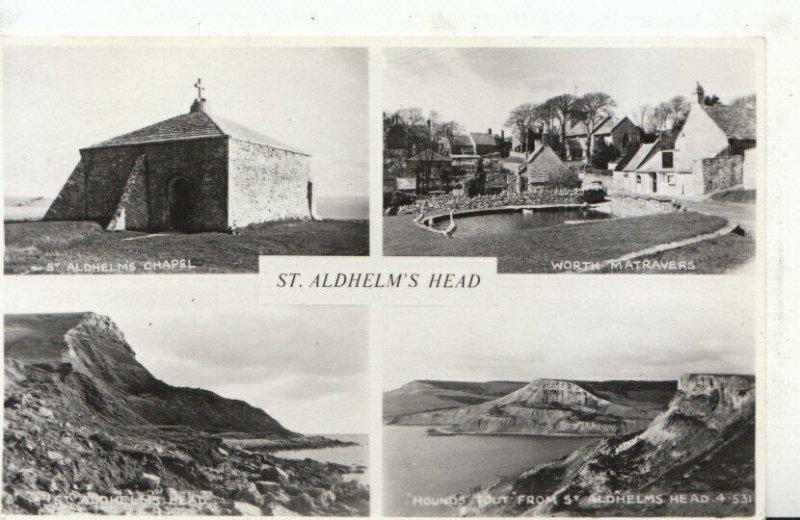 Dorset Postcard - Views of St Aldhelm's Head - Ref TZ3578