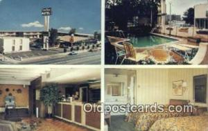 Town House Motor Hotel, Pueblo, Colorado, CO USA Hotel Postcard Motel Post Ca...