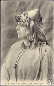 Jewish Woman, Juives Hat Costumes (1920s) JUDAICA L.L.