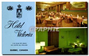 Postcard Old Hotel Victoria Rue St Jean Cote du Palais Quebec Canada
