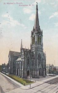 New York Rochester St Michael's Church 1910
